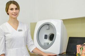 Косметолог анализ кожи